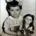 A nővérem, Irén (gyermekkori kép)